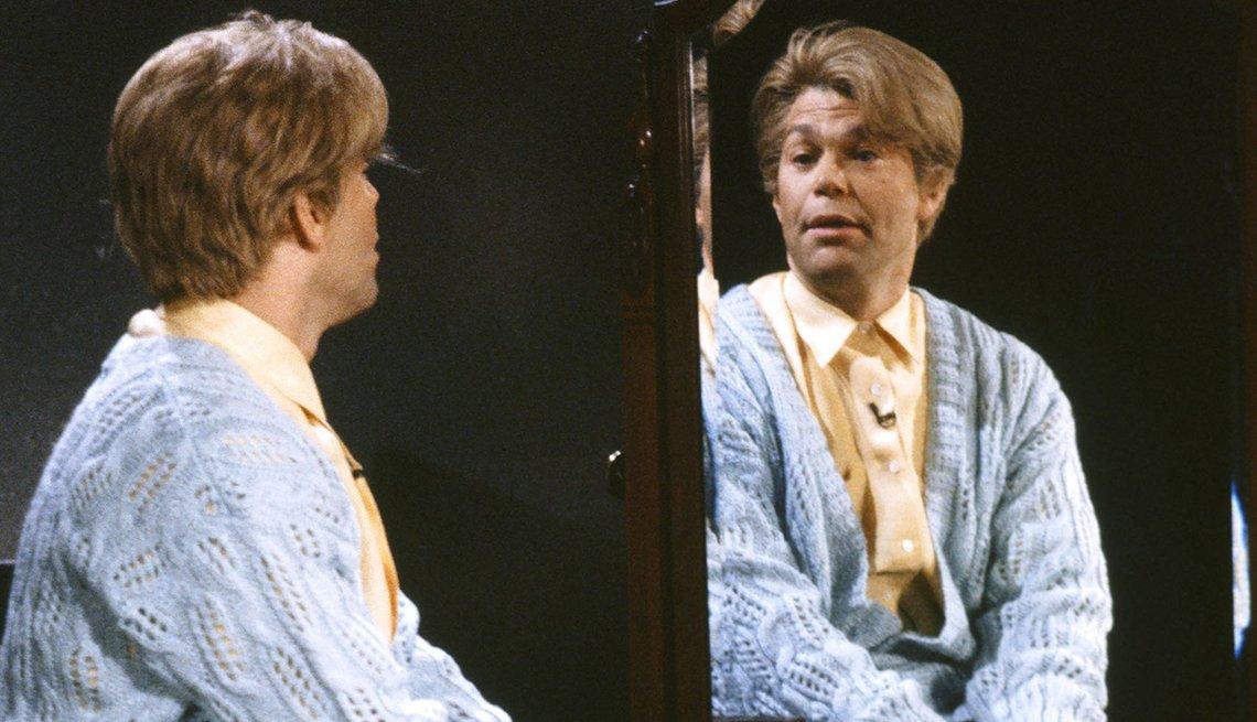 Al Franken, Daily Affirmation skit, Saturday Night Live, SNL 40, comedy television