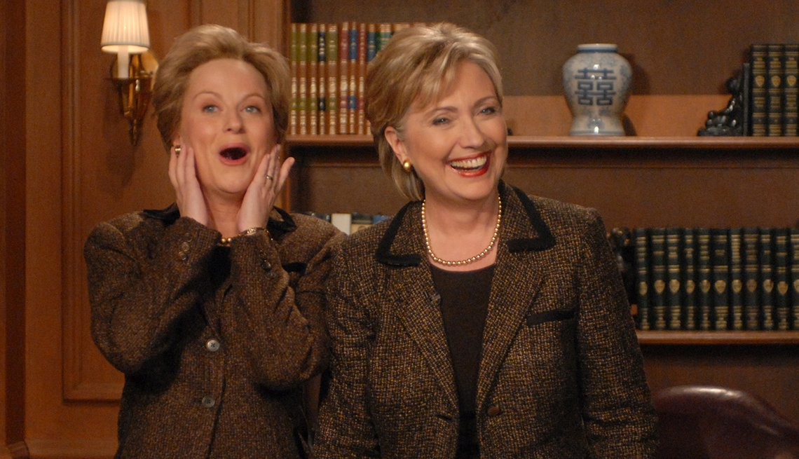 Amy Poehler, Hillary Clinton, Saturday Night Live, SNL 40, comedy television