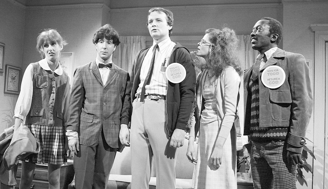 Bill Murray, Paul Shaffer, Gilda Radner, Garrett Morris, Laraine Newman, Saturday Night Live, SNL 40, comedy television