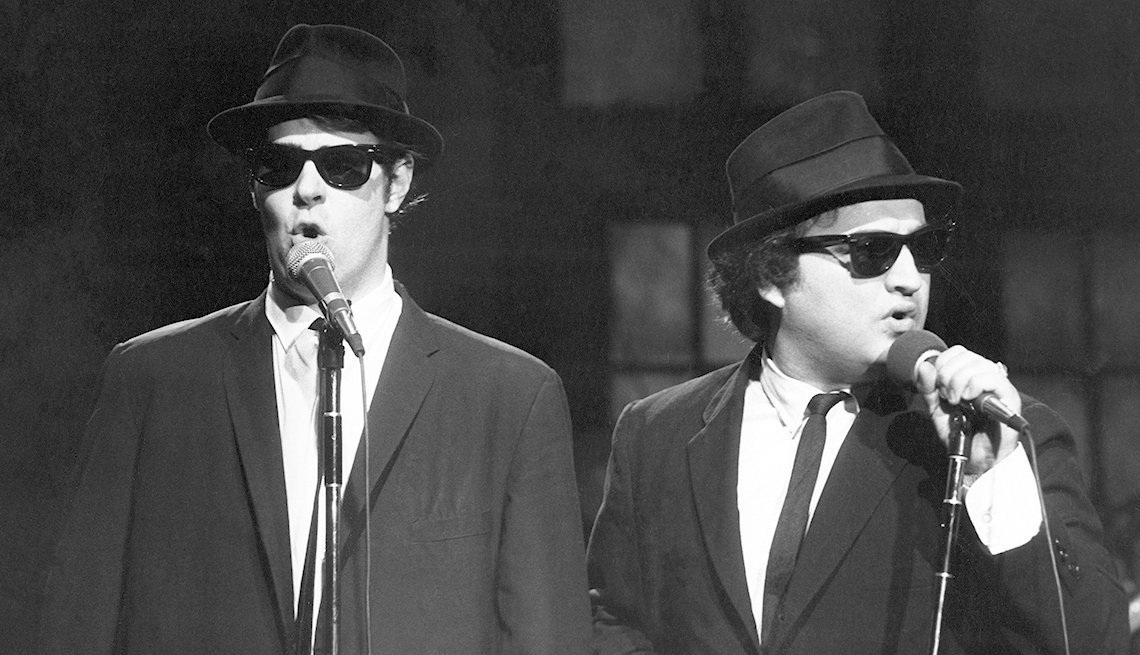 Dan Aykroyd, John Belushi, Blues Brothers, Saturday Night Live, SNL 40