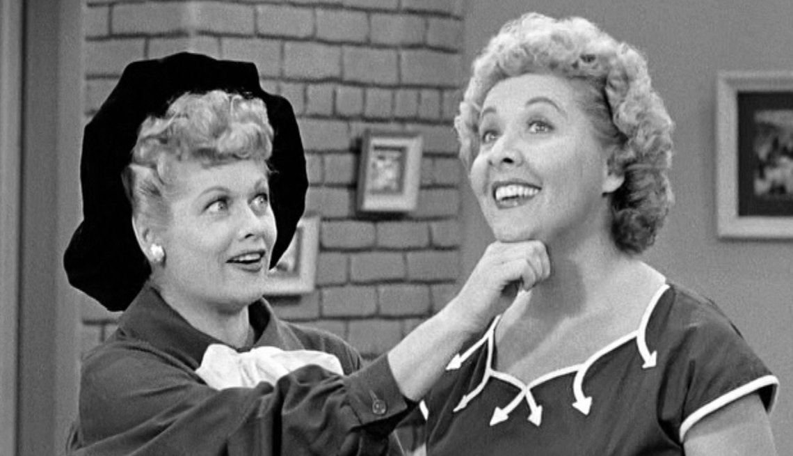 Lucille Ball, Vivian Vance, Second Bananas