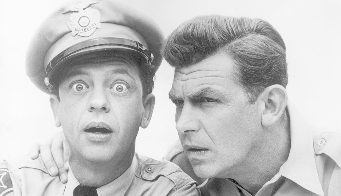 Don Knotts, Andy Griffith, Mayberry RFD, Second Bananas