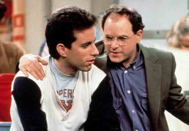 George Costanza talking to Jerry Seinfeld