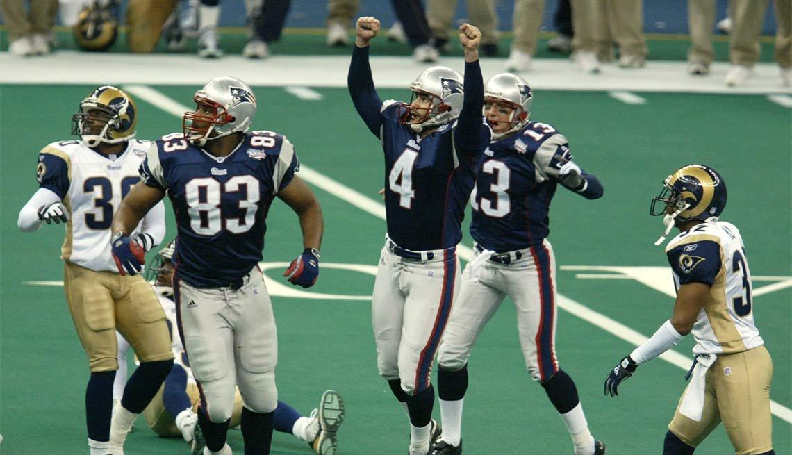 Fearless Super Bowl Plays, SUPER BOWL XXXVI