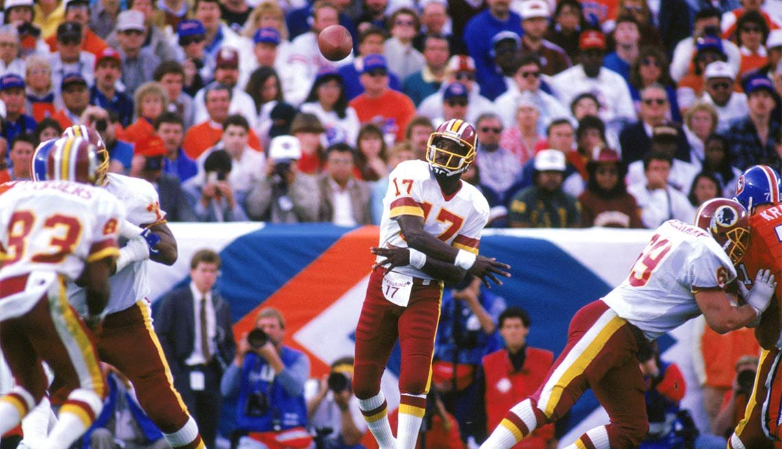 Fearless Super Bowl Plays, SUPER BOWL XXII