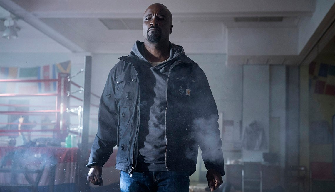 Mike Colter in 'Luke Cage'