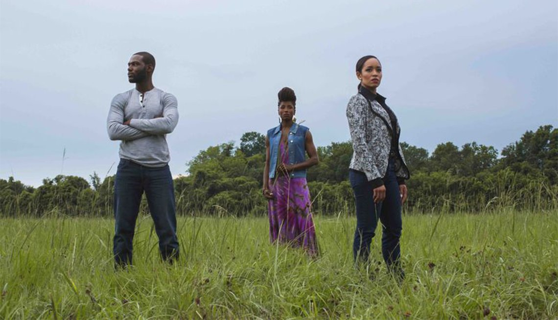 Kofi Siriboe, Rutina Wesley and Dawn-Lyen Gardner in 'Queen Sugar'
