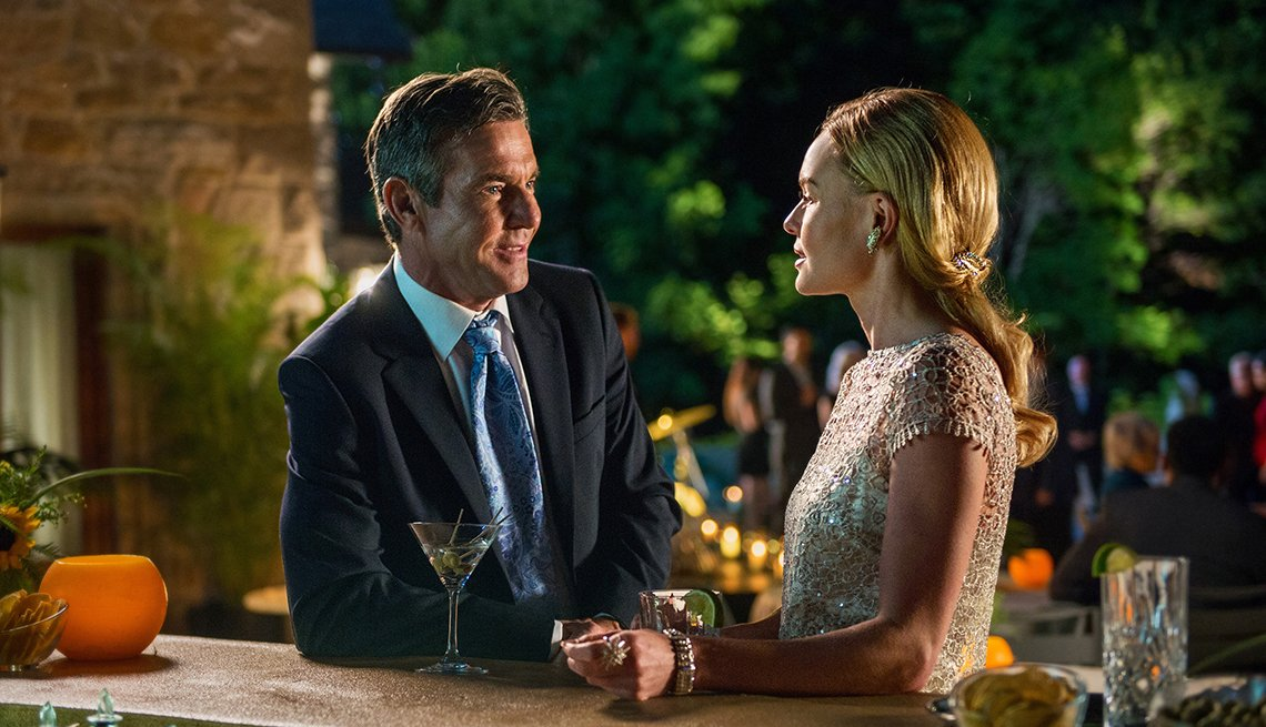 Dennis Quaid and Kate Bosworth in 'The Art of More'