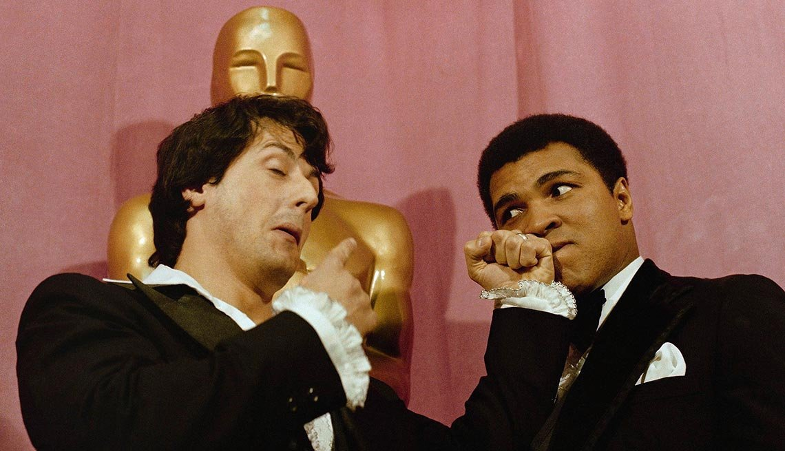 Stallone and Muhammad Ali