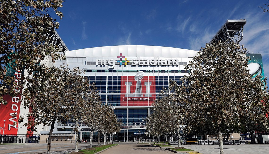 NRG Stadium in Houston, will host Super Bowl LI