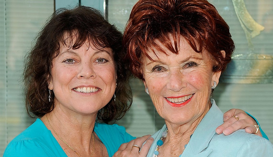 Erin Moran and Marion Ross in 2009