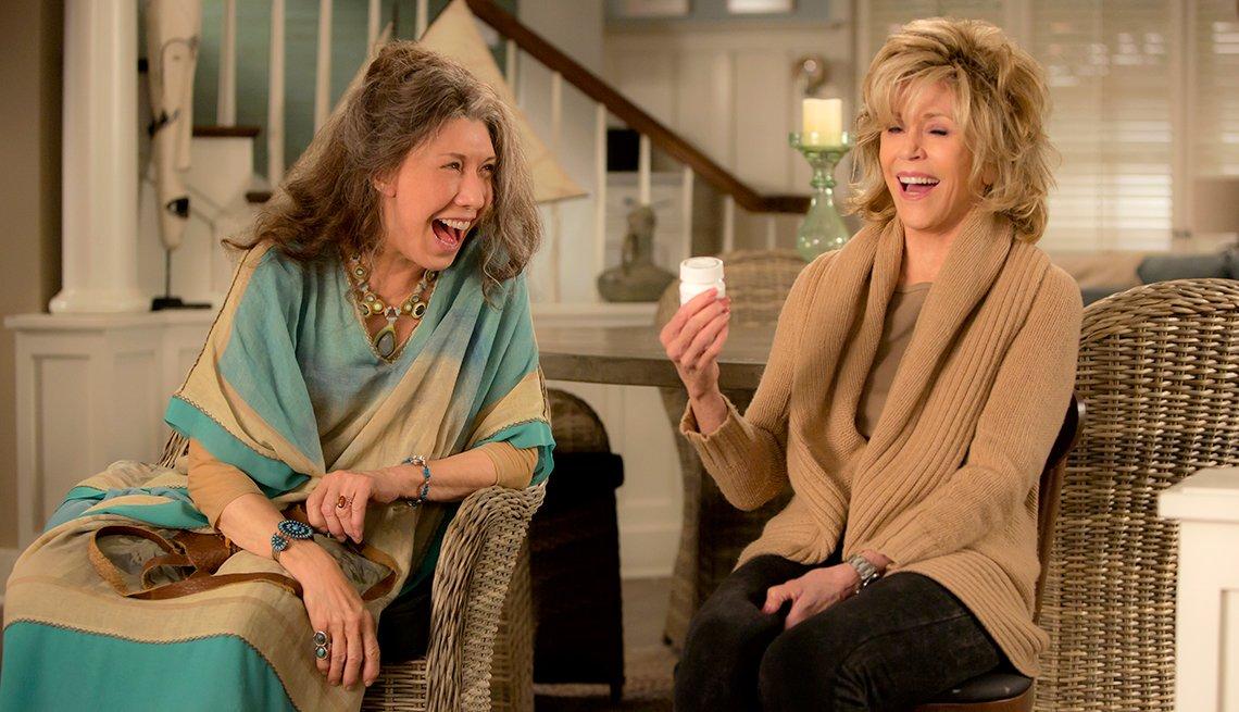 Lily Tomlin, 77, and Jane Fonda, 79