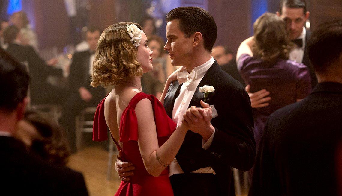 Dominique McElligott as Kathleen Moore and Matt Bomer as Monroe Stahr in 'The Last Tycoon'