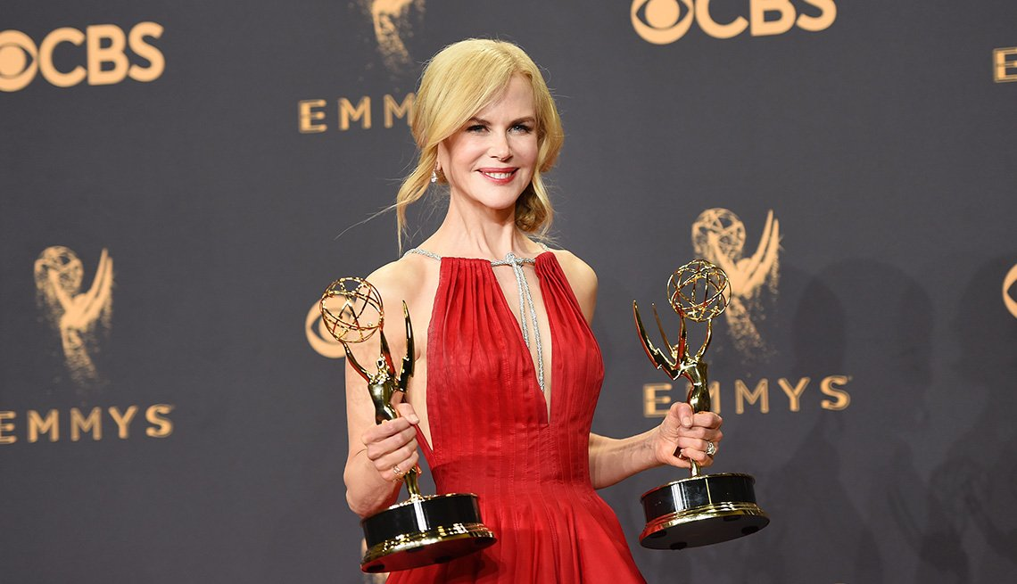 Nicole Kidman, winner of Outstanding Lead Actress in a Limited Series or Movie and Outstanding Limited Series for 'Big Little Lies'