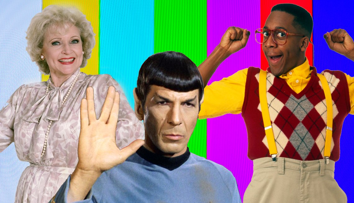 The Golden Girls, Star Trek and Family Matters are streaming now