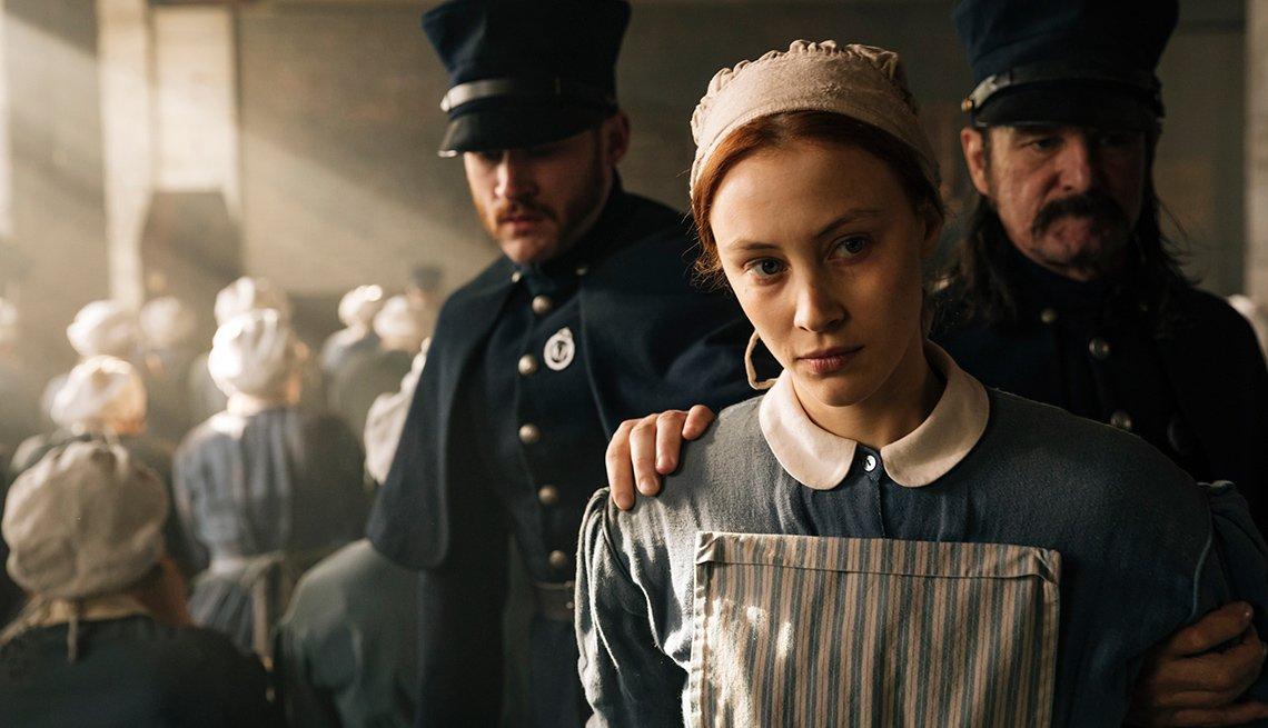 Sarah Gadon in 'Alias Grace'