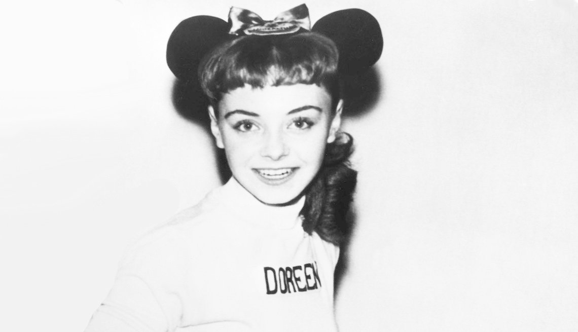 Doreen Tracey from The Mickey Mouse Club in 1950s