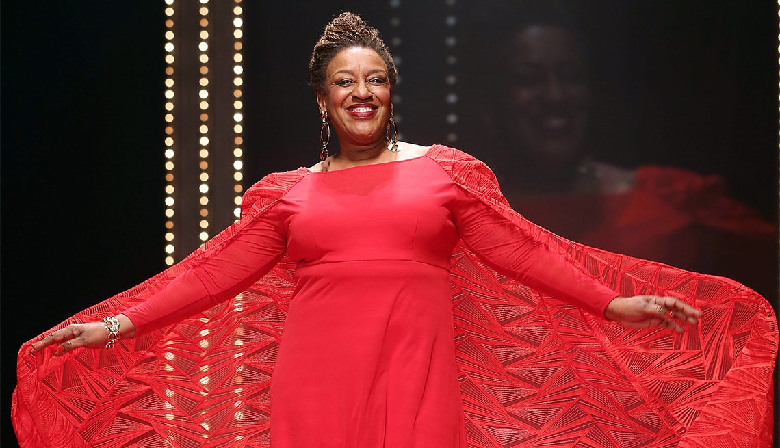 CCH Pounder at Red Dress Event
