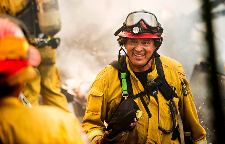 Capt. Dan Cardenas, 61, a firefighter with the Fremont Fire Department,