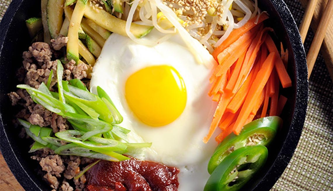 Bibimbap from Korea