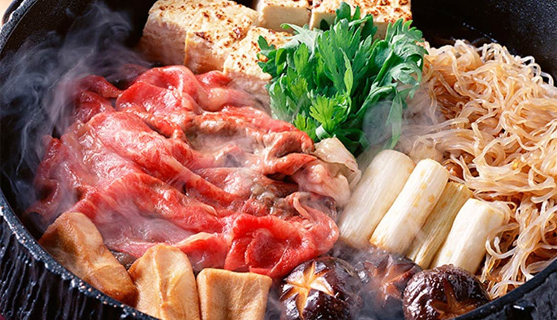 Sukiyaki from Japan