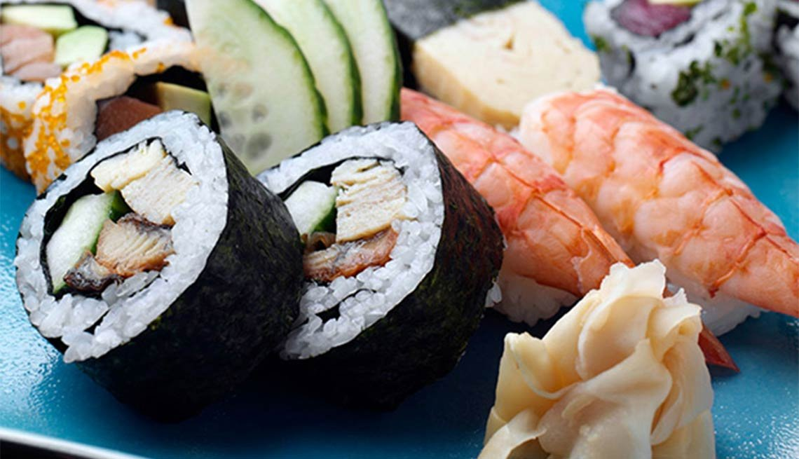 Sushi from Japan