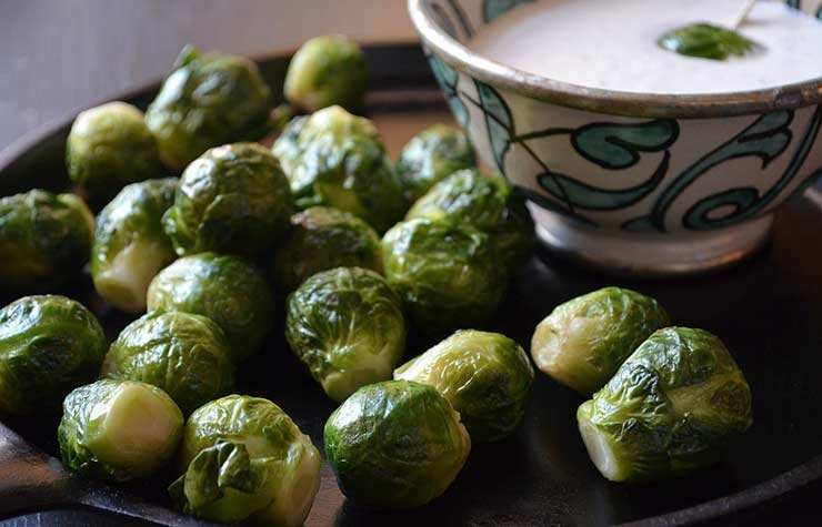 Pam Anderson Super Bowl Recipe Brussels Sprouts