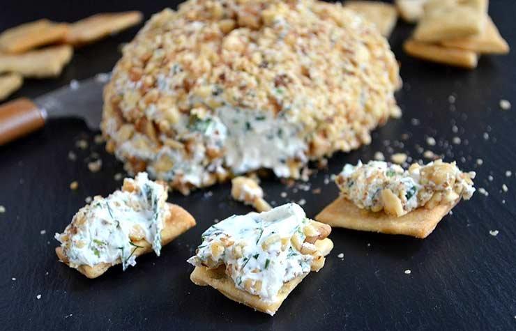 Pam Anderson Super Bowl Recipe Cheeseball