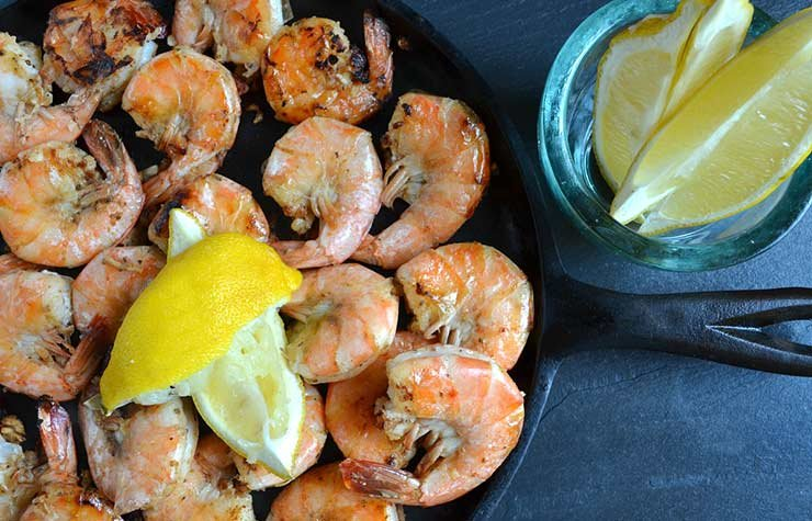 Pam Anderson Super Bowl Recipe Shrimp