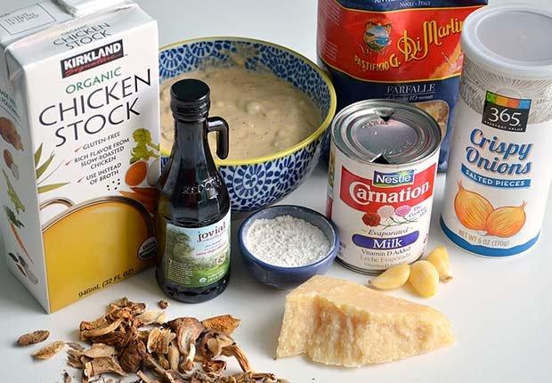 Pam Anderson Recipe Creamy Mushroom Pasta Sauce