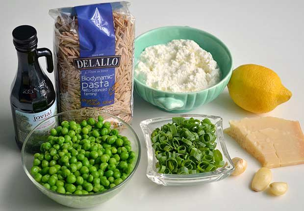 Pam Anderson Recipe Pasta Sauce Lemon Ricotta