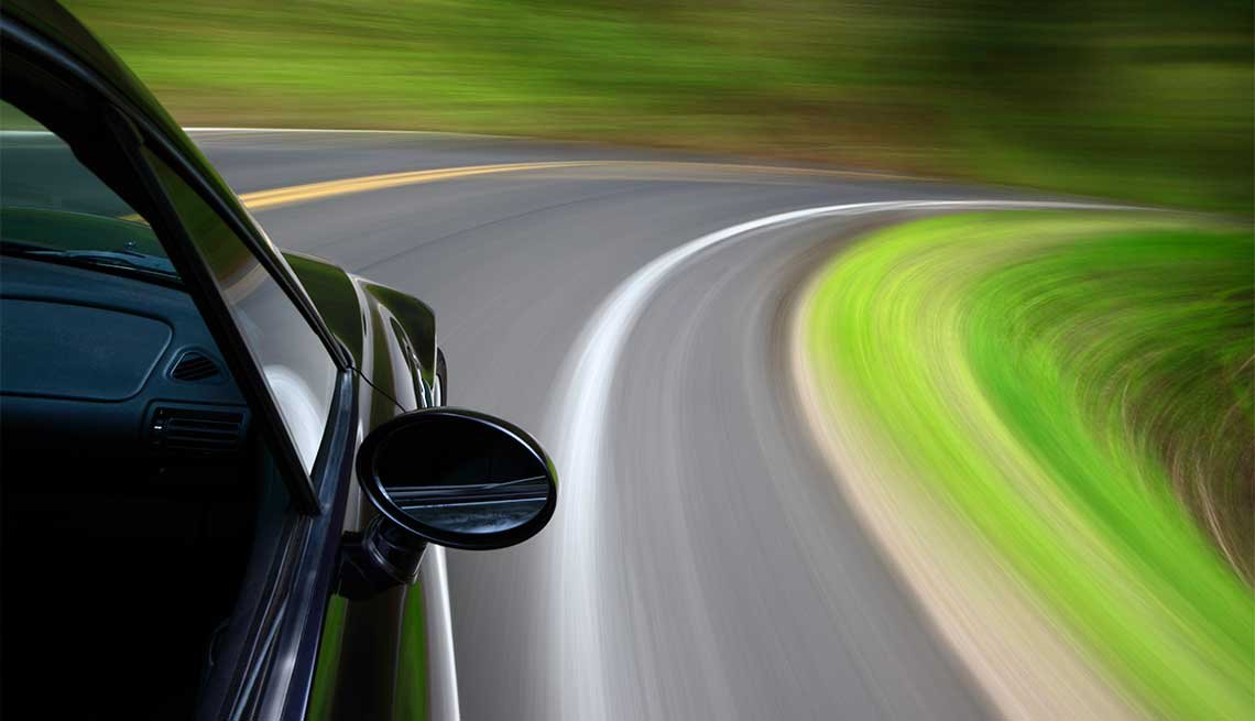 Car speeding, Giving Back via Driver Safety Program