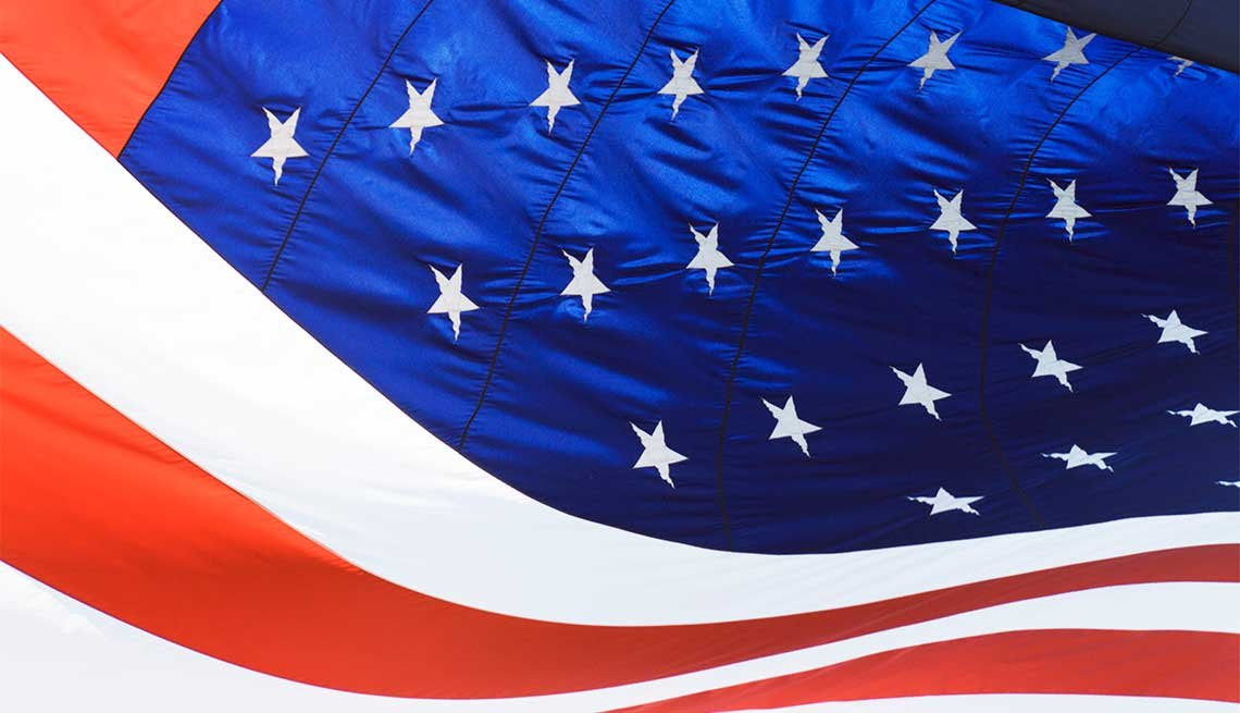 United States Flag, Giving Back via Volunteering In Your State