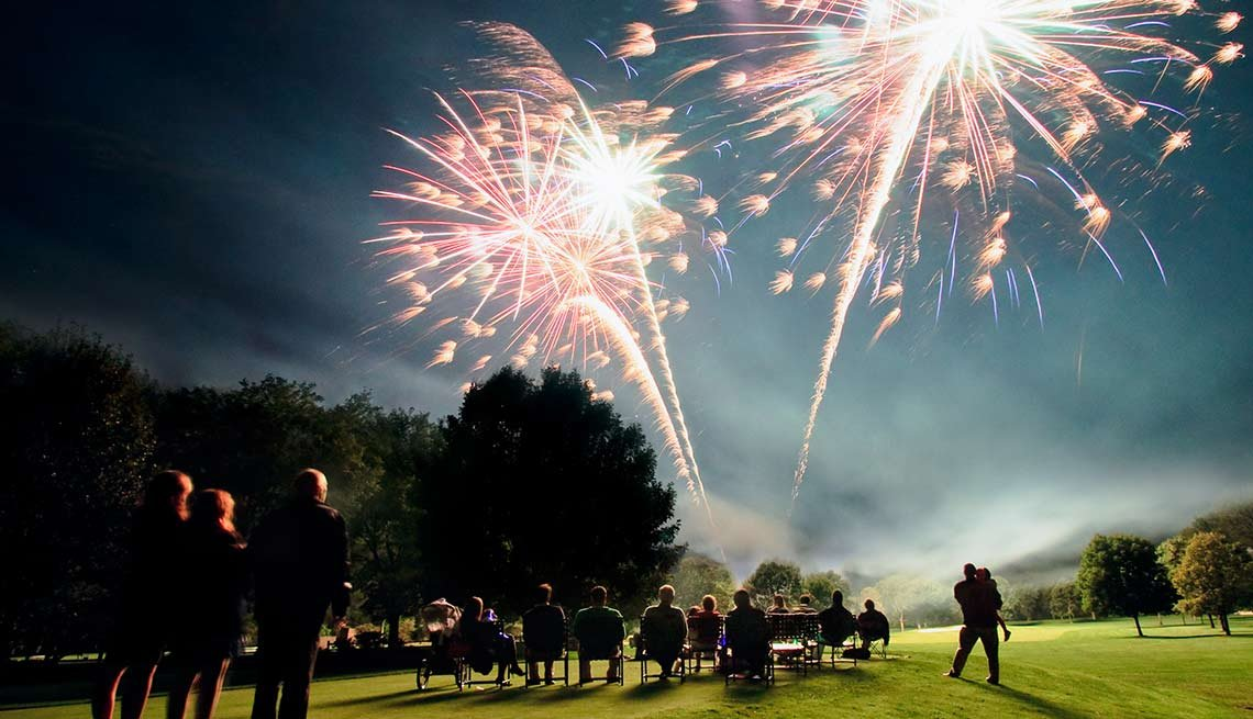 Activities That Harm Hearing Fireworks