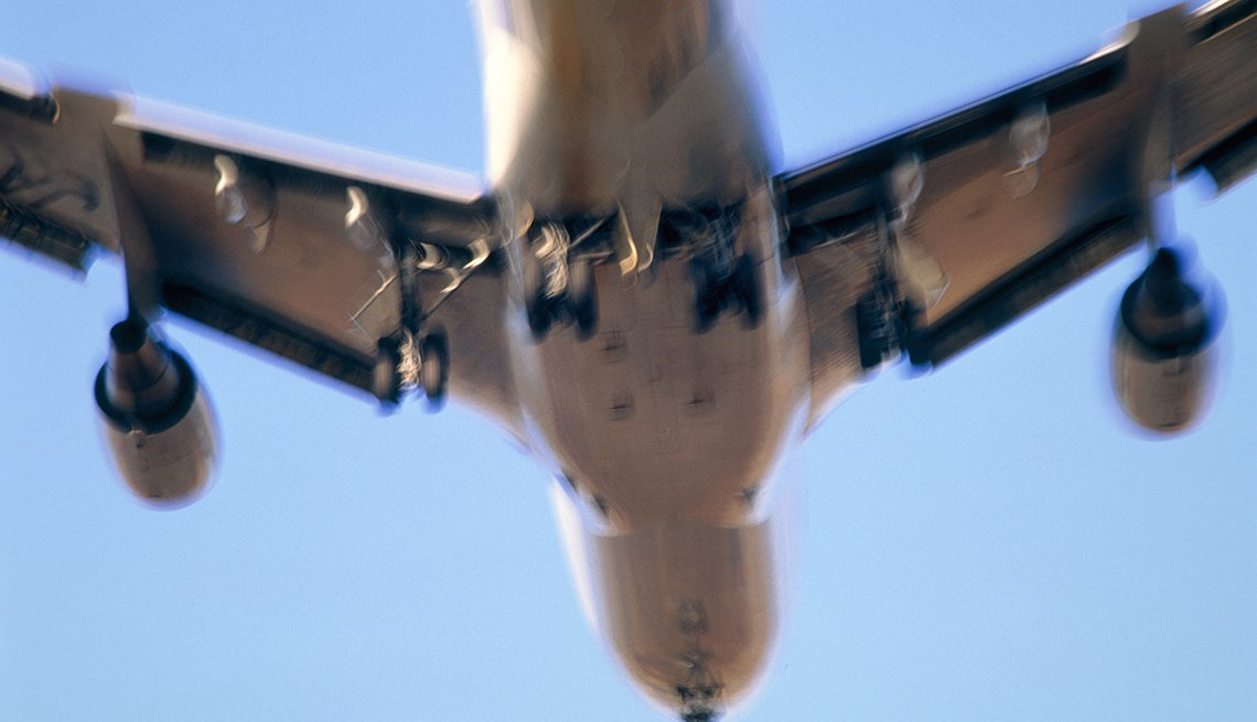 A passenger aircraft in flight, Tips to Protect Your Hearing
