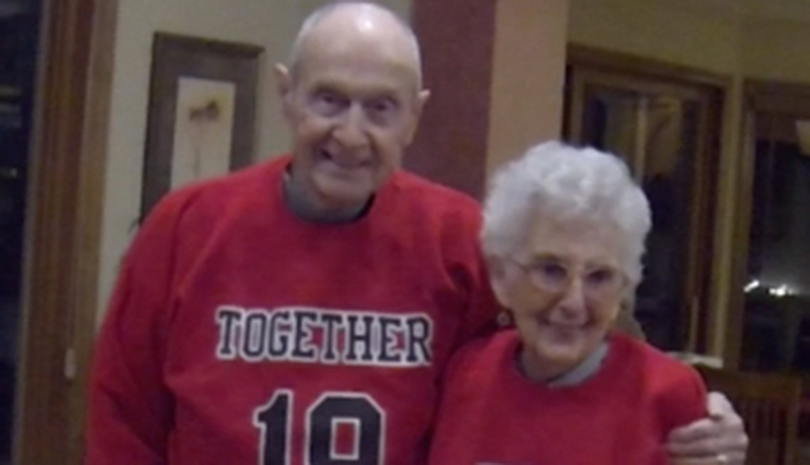 Couple Reveals Secret to 75 Years of Marriage