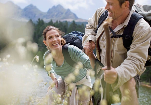 Couple hiking together, 10 Things You Need to Know About the Health Care Law