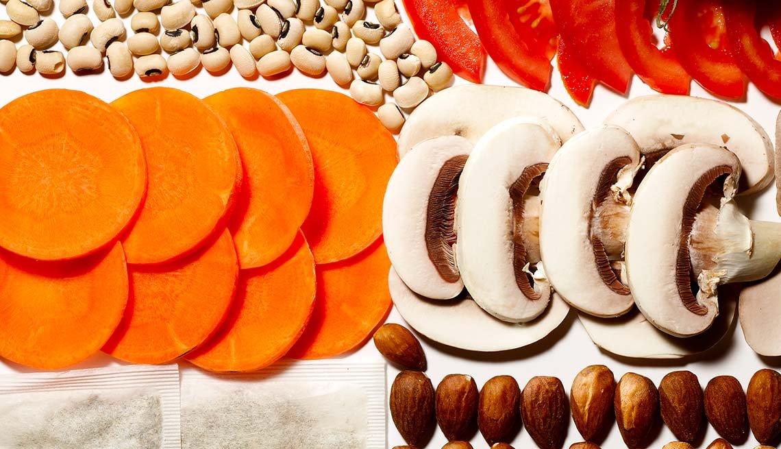 Mixed super foods