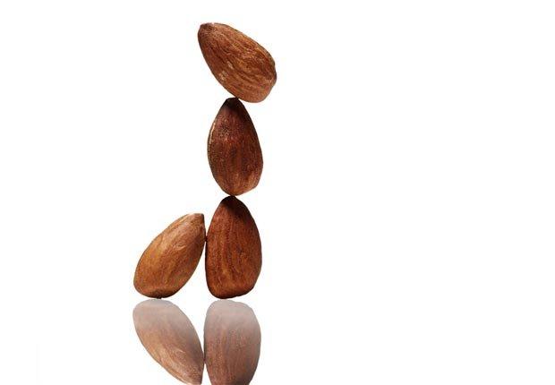 Almonds, Super Foods to Fight Flu (Sam Kaplan; Stylist: Matt Vohr for Halley Resources)