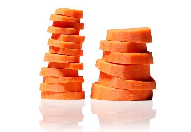 Carrots, Super Foods to Fight Flu (Sam Kaplan; Stylist: Matt Vohr for Halley Resources)