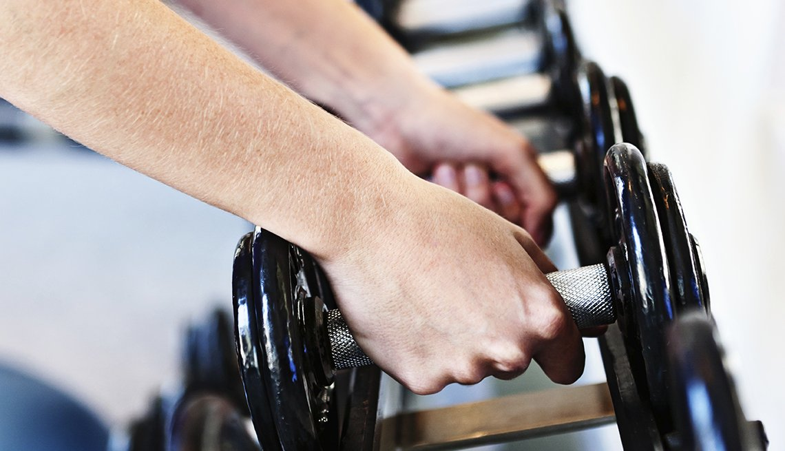 Female hands, weights, Personal Best: My Fitness
