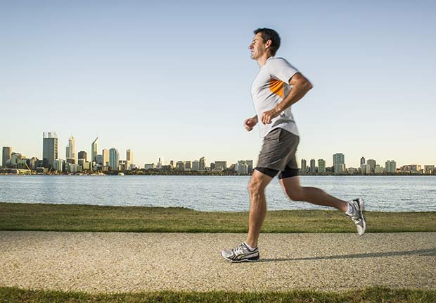 Fitness Flash High Intensity Training Health Benefits Diabetes Risk Lower Run City Skyline