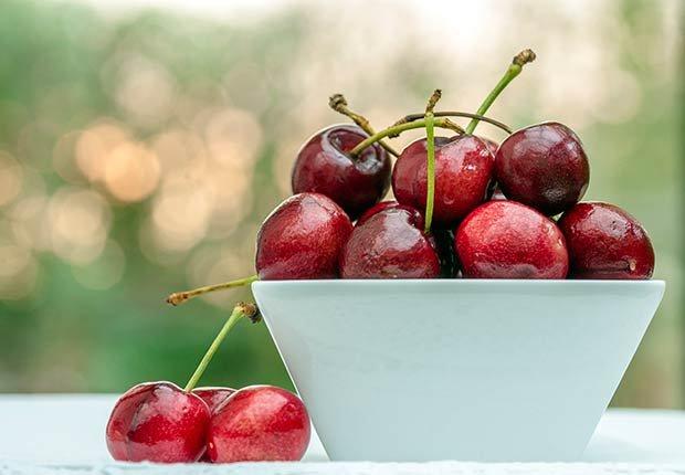 Cherries Bowl Eat Clean Get Lean Superfoods Nutrition Healthy