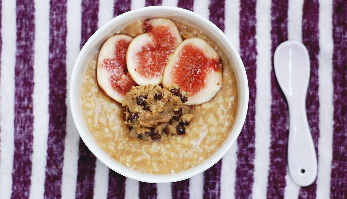 oatmeal and peanut butter