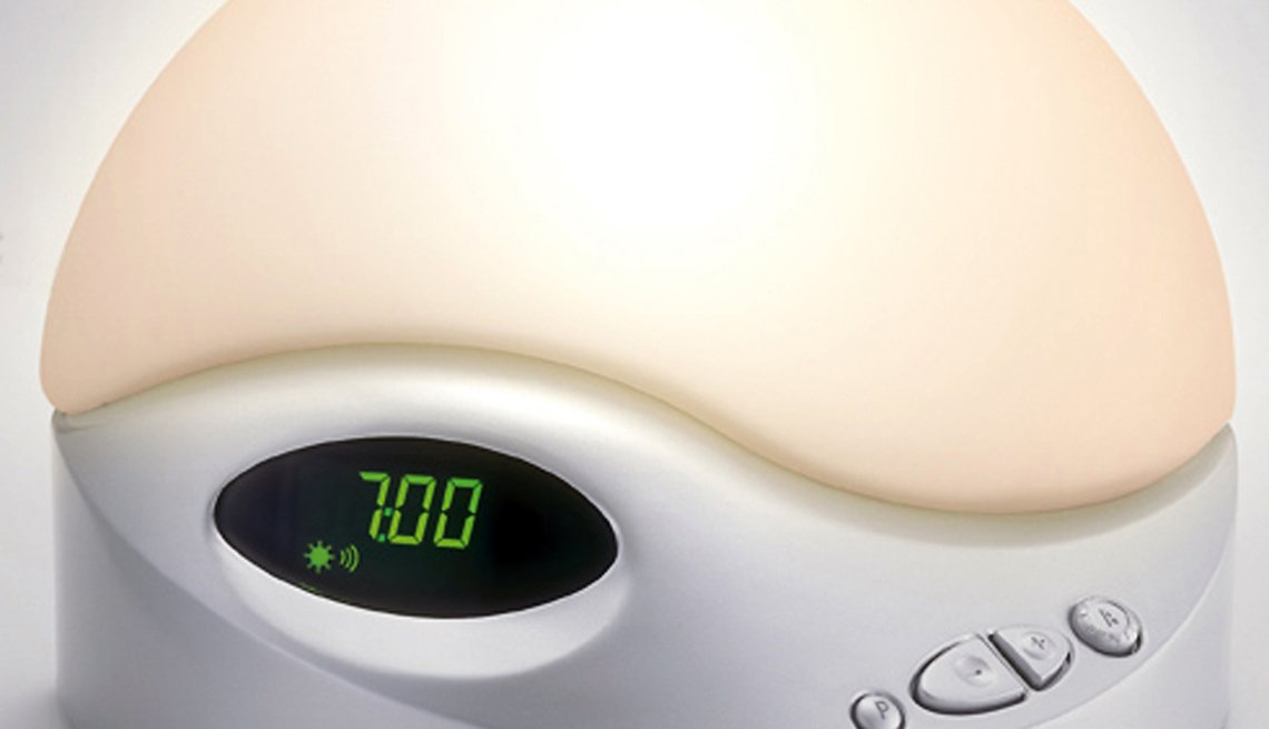 Alarm clock displaying 7:00, Healthy Holiday Gift Guide