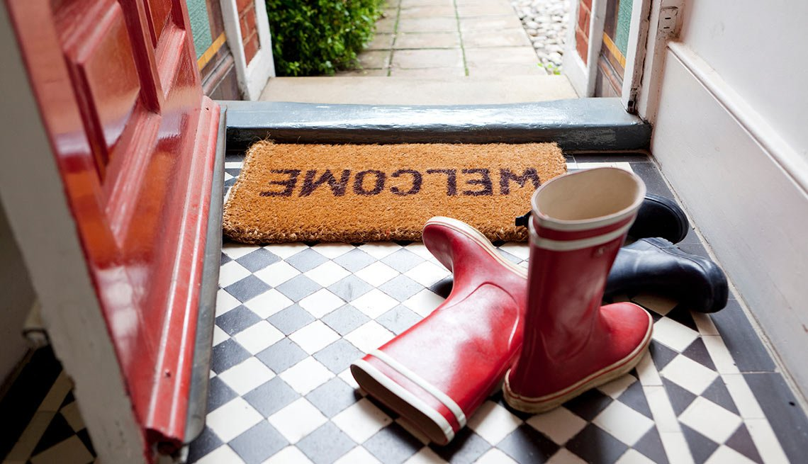 Boots by the front door, Health Boosters
