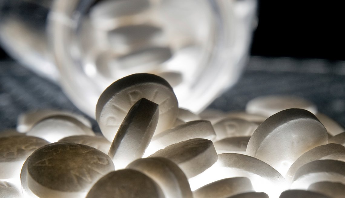 Aspirin in a pile, Good Habits Go Bad