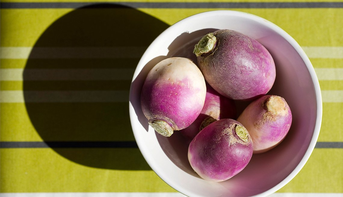 Turnips, Fat Busting Fall Foods