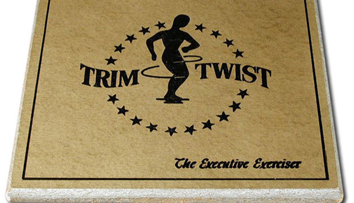 Trim Twist platform, 1960s fitness, Boomer Fitness Fads