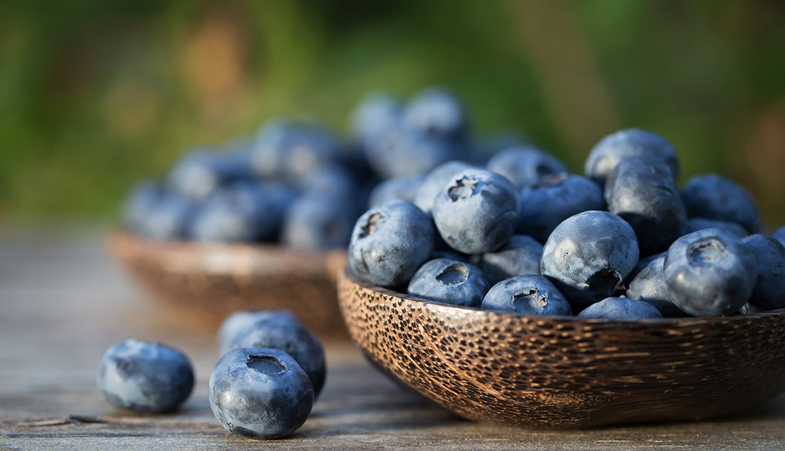 blueberries, natural, pain, killers